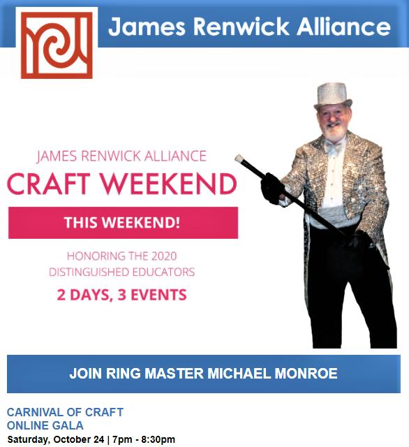 james.renwick.alliance.michael_monroe.craft.weekend.jra.carnival.magic.art.new.dc.washington.support.smithsonian