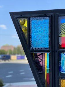 Public art detail
